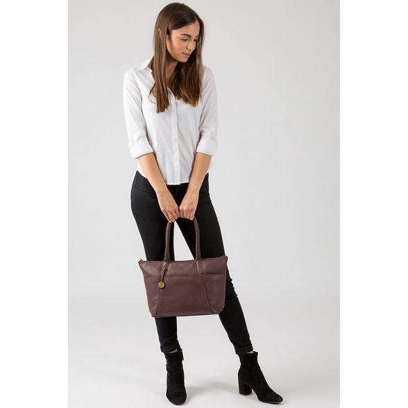 'Eton' leather Luxuries Auburn Pure handbag London 84Ixwdzt