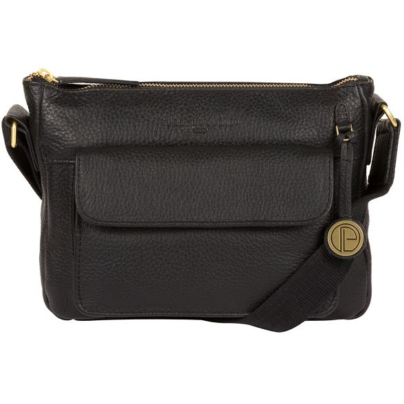gold London 'Guildford' with bag coloured Pure Luxuries leather detailing Black q5wnw4T0