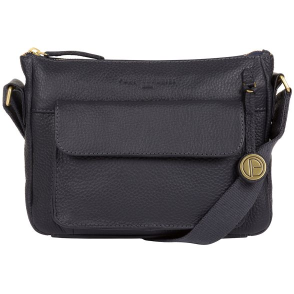 'Guildford' Navy leather Pure Luxuries bag London H4xfnqgwPY
