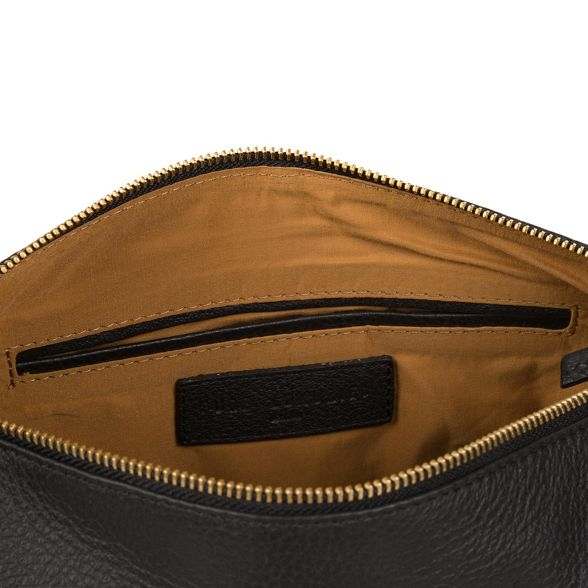 Black London Luxuries 'Helmsley' bag coloured with leather detailing gold Pure vgSwqEw