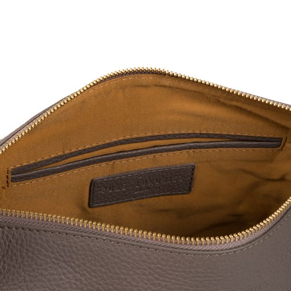 Pure Luxuries London Grey bag leather 'Helmsley' PZSpzP