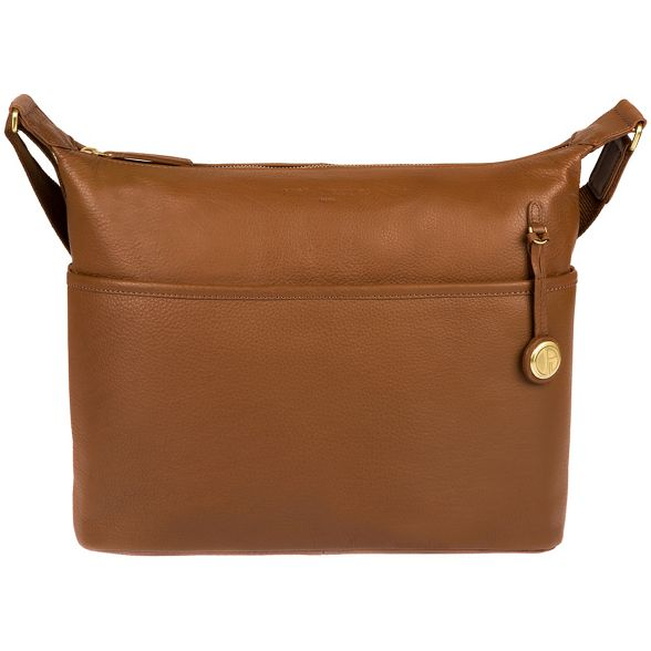 Pure gold detailing London leather 'Helmsley' with coloured bag Luxuries Tan OHrPx0O