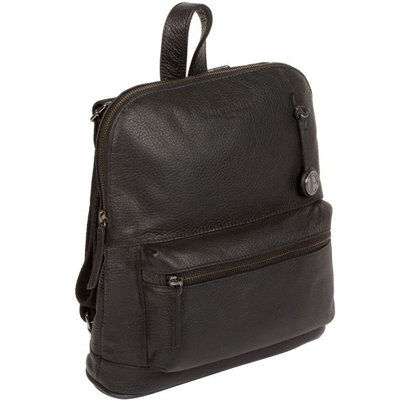 platinum 'Ingleby' Luxuries bag coloured Black with detail London leather Pure 0pwvFq4