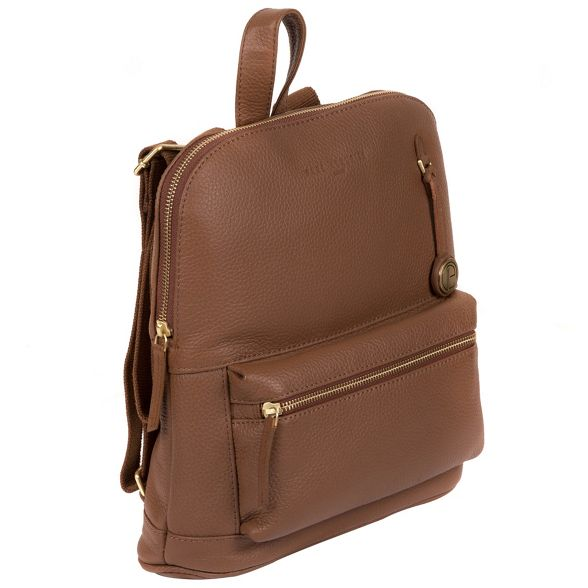 Pure 'Ingleby' Dark London bag Luxuries tan leather wxvH7wRgq