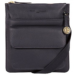 Pure Luxuries London - Navy 'Jarrow' leather bag