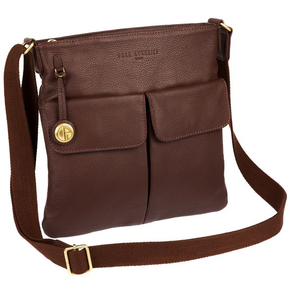 Pure gold leather with bag detailing 'Alice' Auburn coloured Luxuries London fqpwAUf