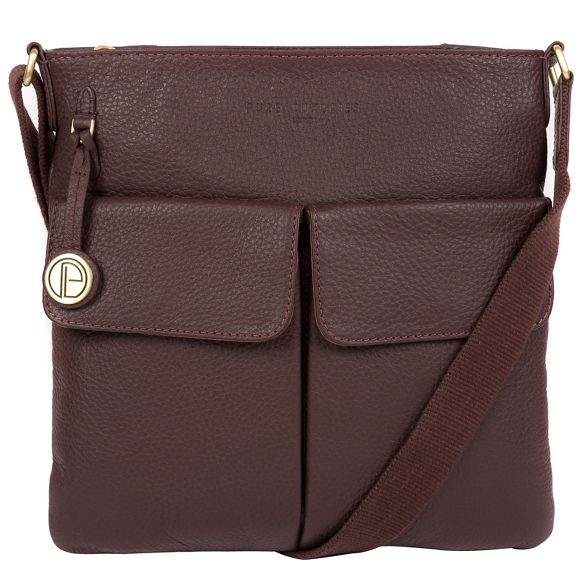 London leather Auburn 'Alice' Luxuries bag Pure qTPwa5B