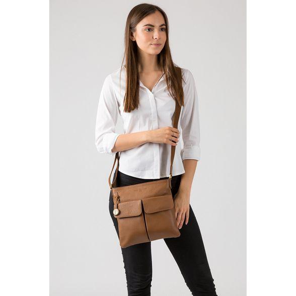 bag London tan 'Alice' leather Dark Luxuries Pure wxp4q5YA4