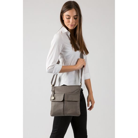 leather Luxuries 'Alice' Pure London bag Grey 7ZwxTqI