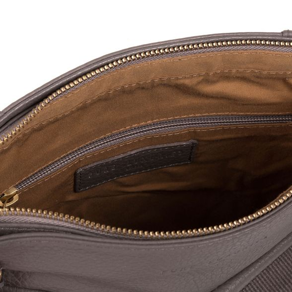 bag Pure leather Luxuries 'Alice' London Grey qXdz8Xr