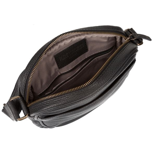 real Black Luxuries despatch London bag Pure 'Flighty' leather ZzIxqEpw