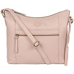 db715ba32187 Pure Luxuries London - Blush pink  Sequoia  leather hobo bag