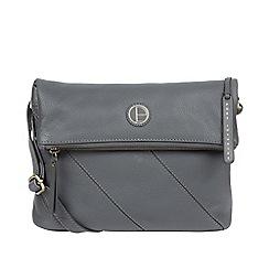 815a4f29b3d9 Pure Luxuries London - Grey  Korin  leather cross-body bag