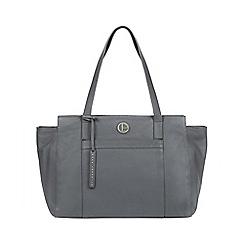 2ca1a36e17c Pure Luxuries London - Grey  Dusk  leather shoulder bag
