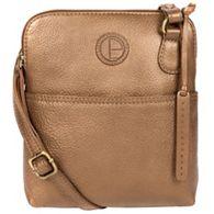 f8791e0b93d4 Pure Luxuries London - Bronze gold  Orsola  fine leather cross-body bag