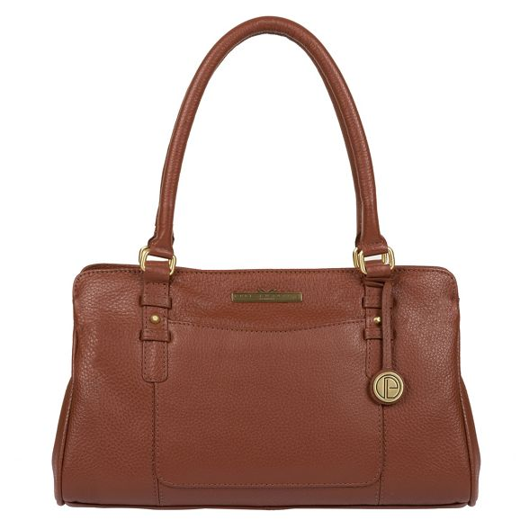 leather London handcrafted 'Lettie' Dark Luxuries handbag tan Pure CYXqxU5wC