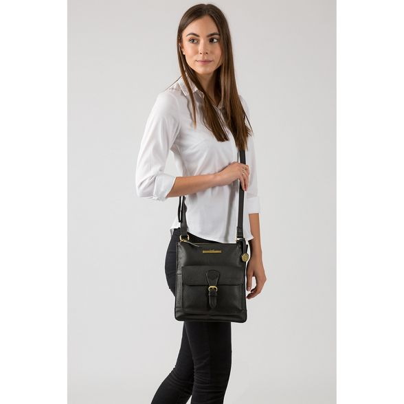 leather cross London Luxuries bag Black Pure 'Heather' body xzpIXHnqn