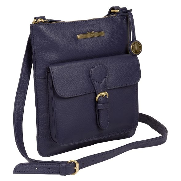 Denim London 'Heather' bag cross Pure body leather Luxuries H5wqtE