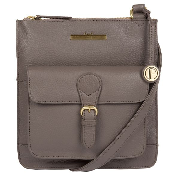 bag London cross Grey 'Heather' Pure body Luxuries leather qR7TFfU