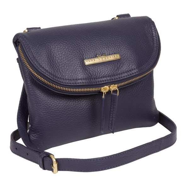 bag cross Denim handcrafted body leather London 'Sheryl' Luxuries Pure g8cwzYqHq