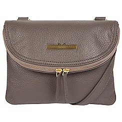 119c8fb59f52 Pure Luxuries London - Grey  Sheryl  handcrafted leather cross-body bag