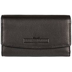 Pure Luxuries London - Black 'Austen' fine leather RFID purse  Deluxe Collection