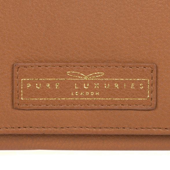 Cognac RFID handcrafted leather 16 'Honor' London Pure card purse Luxuries YxA4ZqE