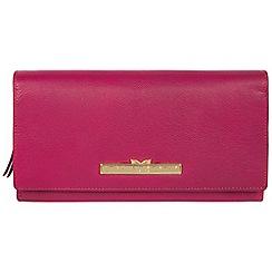 Pure Luxuries London - Sangria 'Kite' leather tri-fold purse