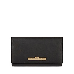 Pure Luxuries London - Black 'Finch' leather bi-fold purse