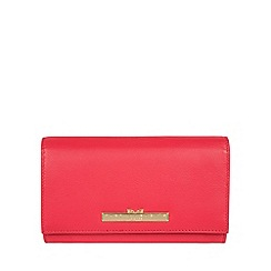 Pure Luxuries London - Tomato 'Finch' leather bi-fold purse