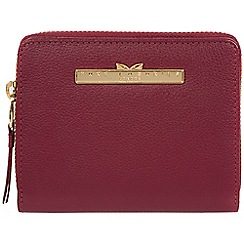 Pure Luxuries London - Pomegranate 'Piper' leather bi-fold purse