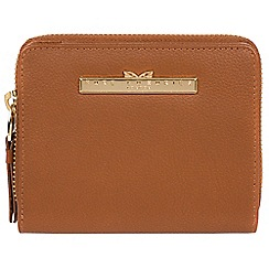 Pure Luxuries London - Tan 'Piper' leather bi-fold purse