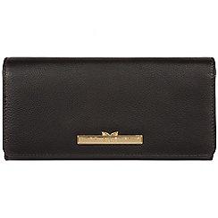 Pure Luxuries London - Black 'Pipit' leather bi-fold purse