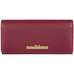Pure Luxuries London - Pomegranate 'Pipit' leather bi-fold purse