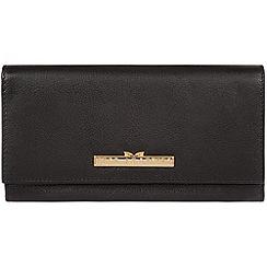 Pure Luxuries London - Black 'Wren' leather bi-fold purse