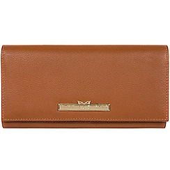 Pure Luxuries London - Tan 'Wren' leather bi-fold purse