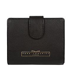 Pure Luxuries London - Black 'Maple' leather RFID purse