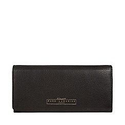Pure Luxuries London - Black 'Holly' leather RFID purse