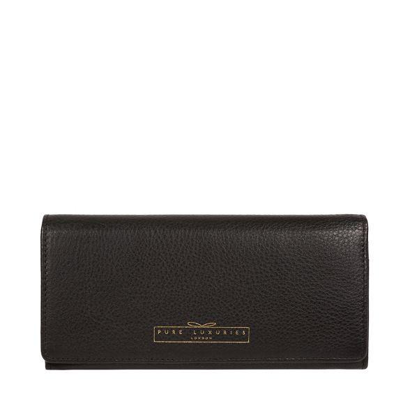 fine 'Gwendoline' purse London Black RFID Luxuries leather Pure qfwXPP