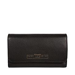 Pure Luxuries London - Black 'Freesia' black RFID purse