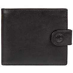 Pure Luxuries London - Black 'Monument' fine cowhide leather RFID wallet