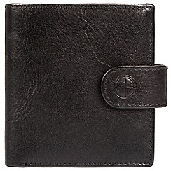 Pure Luxuries London - Black 'Temple' finest natural leather RFID wallet