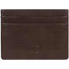 Pure Luxuries London - Brown 'Elden' leather card holder