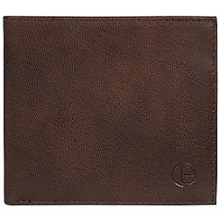Pure Luxuries London - Vintage brown 'Barrett' bi-fold leather wallet