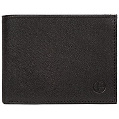 Pure Luxuries London - Black 'Noah' handmade leather wallet