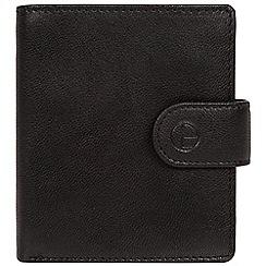 Pure Luxuries London - Black 'Jaspar' leather bi-fold wallet