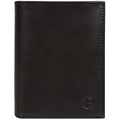 Pure Luxuries London - Black 'Dillon' leather bi-fold wallet