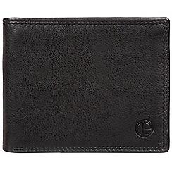 Pure Luxuries London - Black 'Baltimore' bi-fold leather wallet