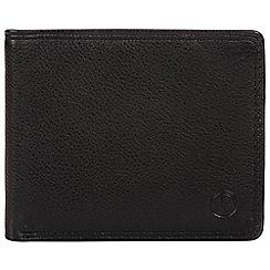 Pure Luxuries London - Black 'Wellington' bi-fold leather wallet