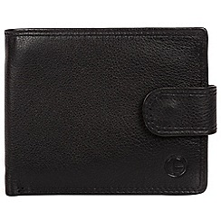 Pure Luxuries London - Black 'Spitfire' bi-fold leather wallet